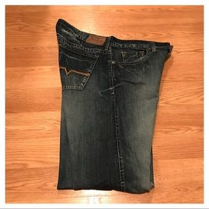 {Guess} Rebel Low Rise Straight Jeans, 38/34